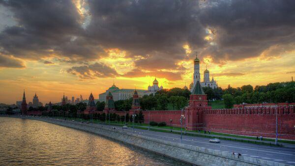 Kremlin. El atardecer en Moscú - Sputnik Mundo