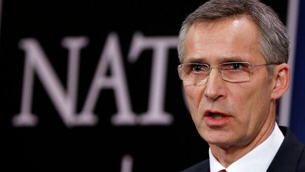 Jens Stoltenberg, secretario general de la OTAN (archivo) - Sputnik Mundo