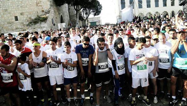 Maratón de Palestina - Sputnik Mundo
