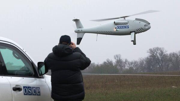 Un dron de la OSCE (Archivo) - Sputnik Mundo
