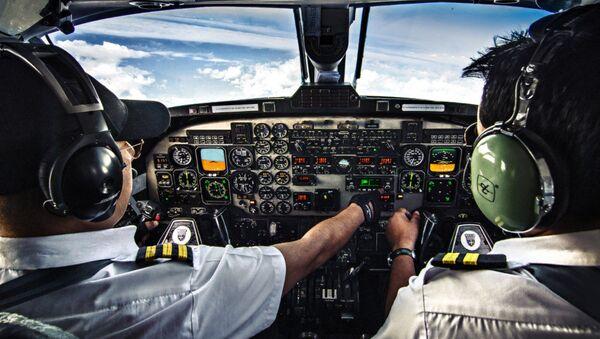 Cabina del avión - Sputnik Mundo