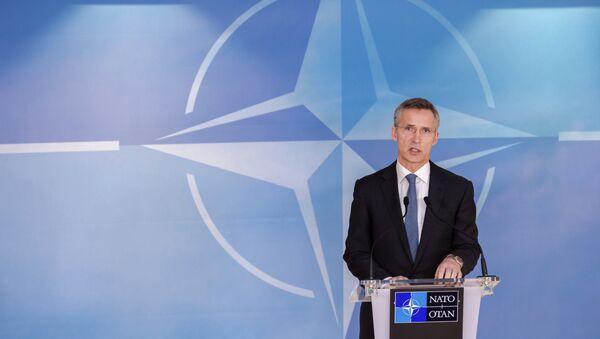 NATO Secretary General Jens Stoltenberg - Sputnik Mundo