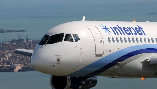 SSJ100 for Interjet - Sputnik Mundo