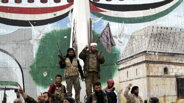 Yihadistas del grupo Frente al Nusra (archivo) - Sputnik Mundo