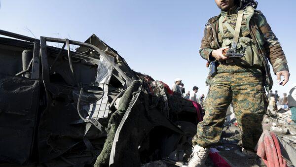 Los rebeldes hitíes sufren graves pérdidas en Yemen, según medios - Sputnik Mundo