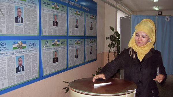 Elecciones presidenciales en Uzbekistán - Sputnik Mundo