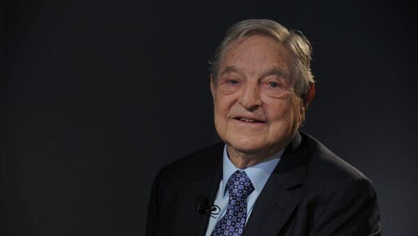George Soros de la Fundación Soros - Sputnik Mundo
