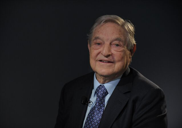 George Soros, fundador y jefe de Open Society Foundations (archivo)