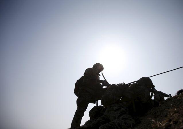 Soldados de Corea del Sur (archivo)