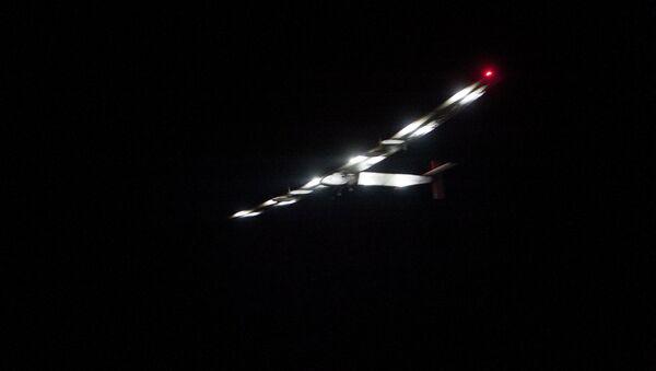 Solar Impulse 2 ha partido de la ciudad birmana de Mandalay rumbo a Chongqing en China - Sputnik Mundo