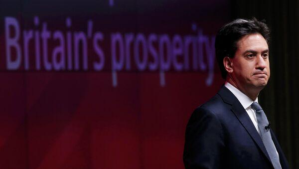 Ed Miliband, líder del Partido Laborista - Sputnik Mundo