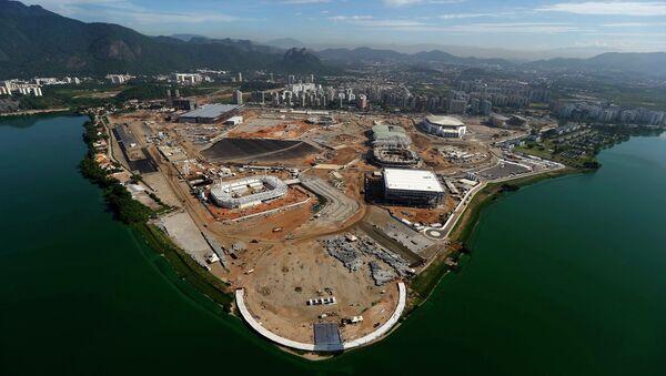 Construcción del Parque Olímpico de Río de Janeiro - Sputnik Mundo