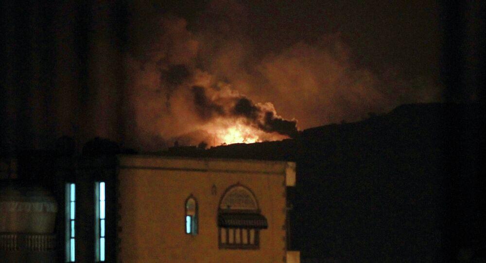 Situación en Saná