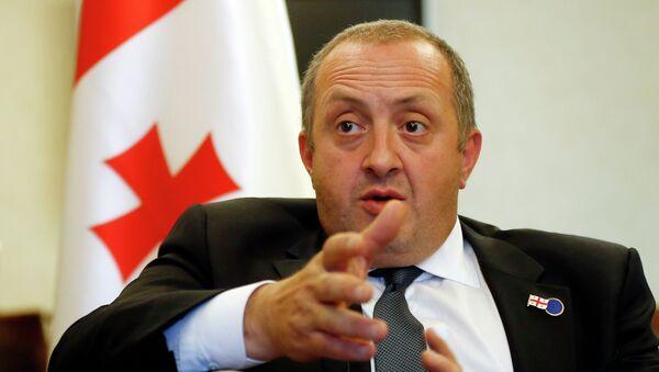 Gueorgui Margvelashvili, presidente de Georgia - Sputnik Mundo