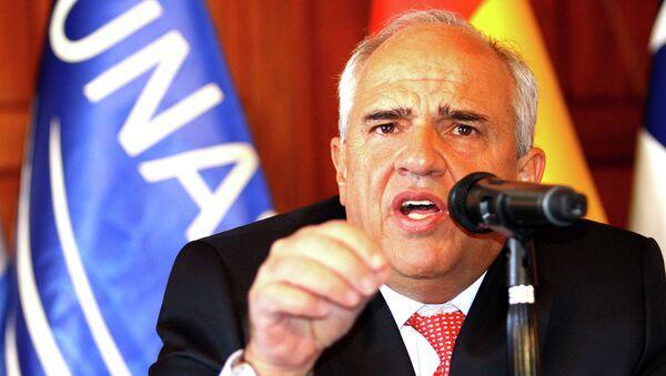 Ernesto Samper, secretario general de la Unión de Naciones Suramericanas (Unasur) - Sputnik Mundo
