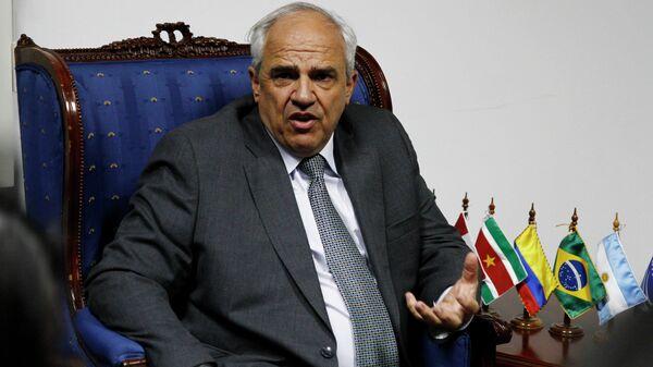 Ernesto Samper, exsecretario general de la Unión de Naciones Suramericanas (Unasur) - Sputnik Mundo