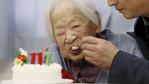Misao Okawa, persona más vieja del planeta - Sputnik Mundo