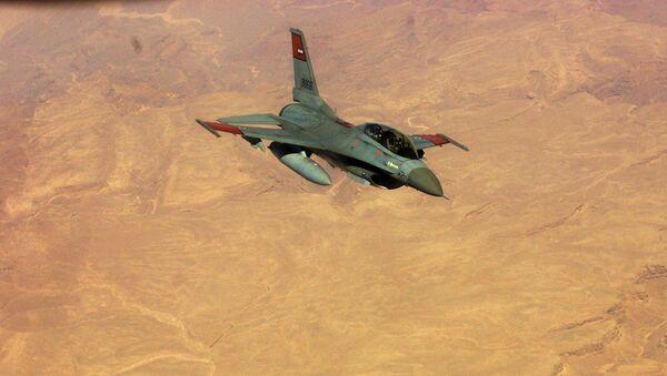 Caza F-16  de la Fuerzas Aéreas de Egipto - Sputnik Mundo