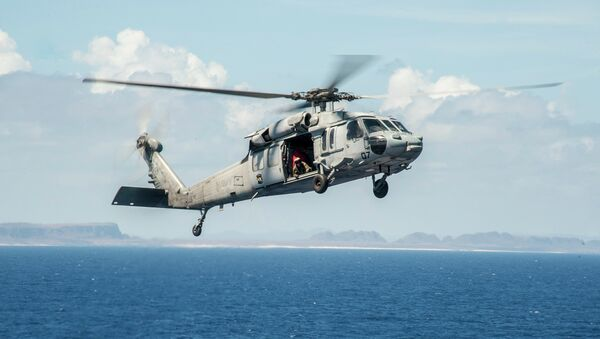 Helicóptero MH-60 Seahawk - Sputnik Mundo