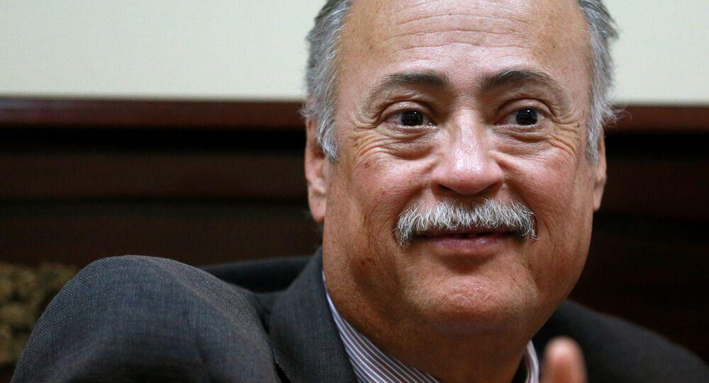 Rubén Beltrán, embajador de México en Rusia