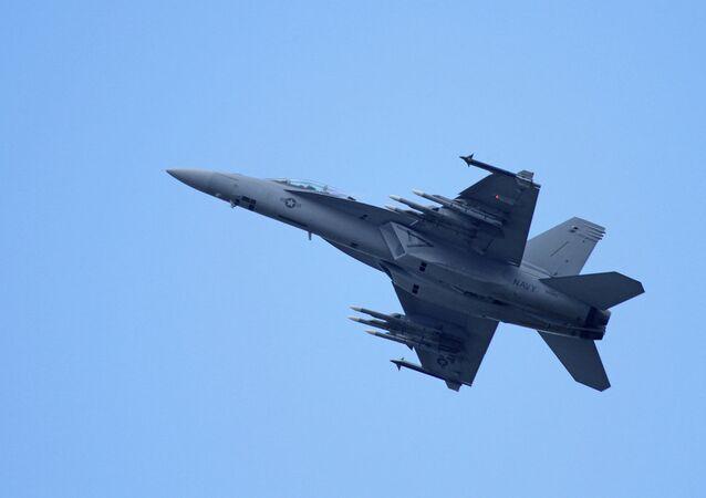 Caza estadounidense Super Hornet