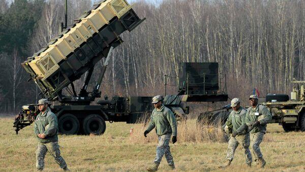 Sistema de misiles estadounidense Patriot en Polonia - Sputnik Mundo