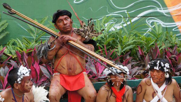 Indios Yanomami - Sputnik Mundo
