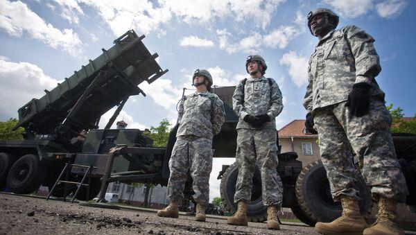 Misiles estadounidenses Patriot - Sputnik Mundo