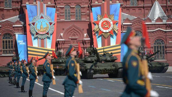 Desfile con motivo del 69º aniversario de la Victoria de la Unión Soviética sobre la Alemania nazi - Sputnik Mundo