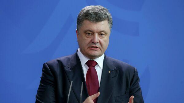 Рабочий визит П.Порошенко в Германию - Sputnik Mundo