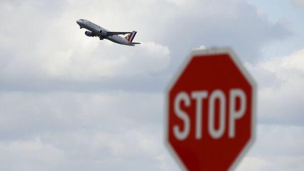 Un avión de Germanwings - Sputnik Mundo