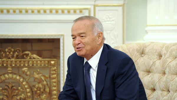 Islám Karímov, presidente de Uzbekistán - Sputnik Mundo