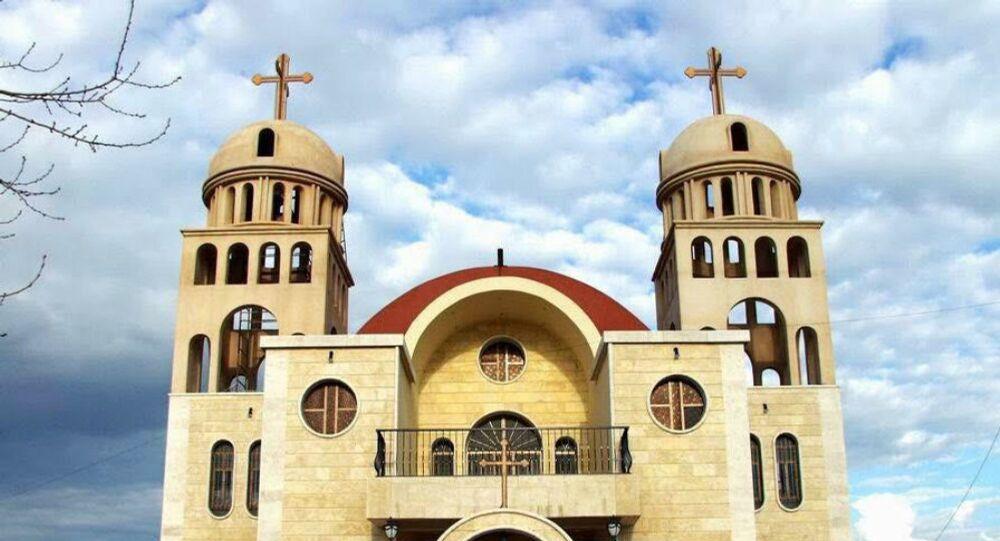 Iglesia Nuestra Señora en la provincia de Al Hasaka