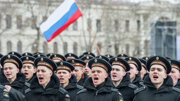 Празднование годовщины Крымской весны в Крыму - Sputnik Mundo