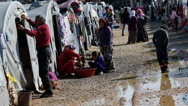 Refugiados kurdos - Sputnik Mundo