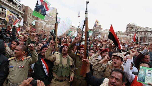 Insurgentes hutíes desmienten haber alcanzado un acuerdo político con la coalición árabe - Sputnik Mundo