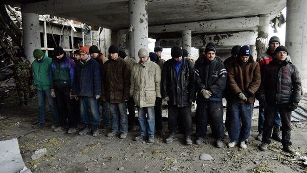 Prisioneros ucranianos (Archivo) - Sputnik Mundo
