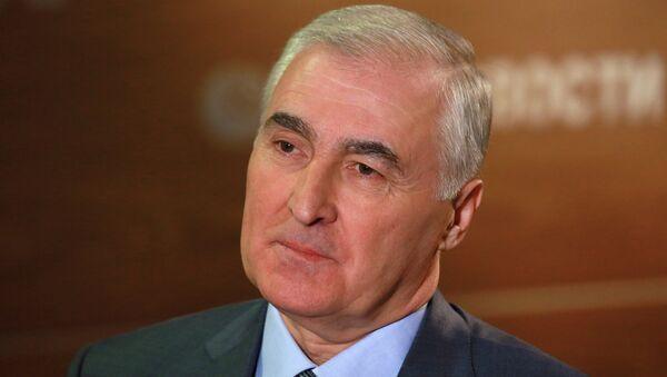 Президент Южной Осетии Леонид Тибилов посетил РИА Новости - Sputnik Mundo