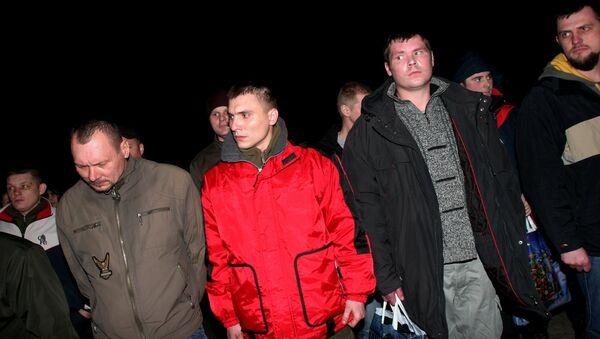 ДНР передала украинской стороне пленных силовиков - Sputnik Mundo