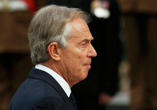 Tony Blair, ex primer ministro de Reino Unido