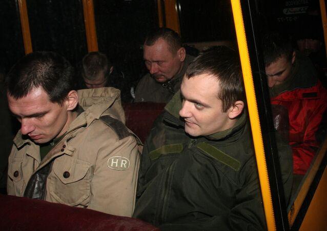 Canje de prisioneros en Donbás (archivo)