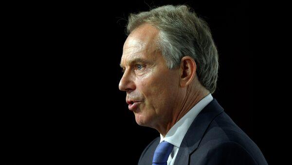 Tony Blair, ex primer ministro de Reino Unido - Sputnik Mundo