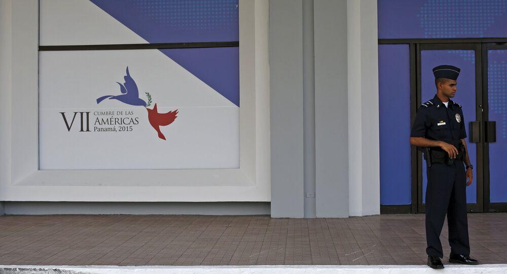 Centro de convenciones Atlapa, sede de la VII Cumbre de las Américas