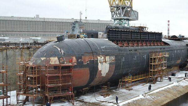 El submarino nuclear Oriol - Sputnik Mundo