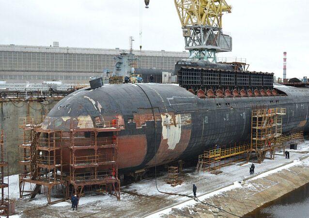 El submarino nuclear Oriol