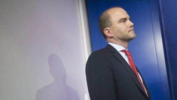 Ben Rhodes, asesor adjunto de Seguridad Nacional de la Casa Blanca - Sputnik Mundo