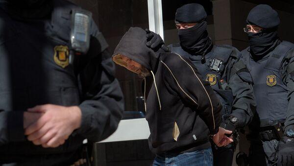 Detención de un presunto yihadista en España (archivo) - Sputnik Mundo