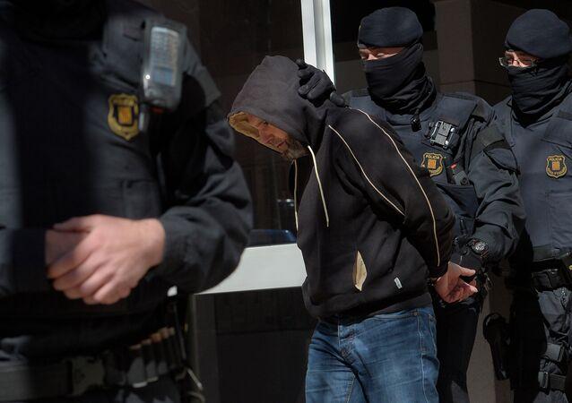 Uno de los detenidos en la operación contra el yihadismo en Catalunya