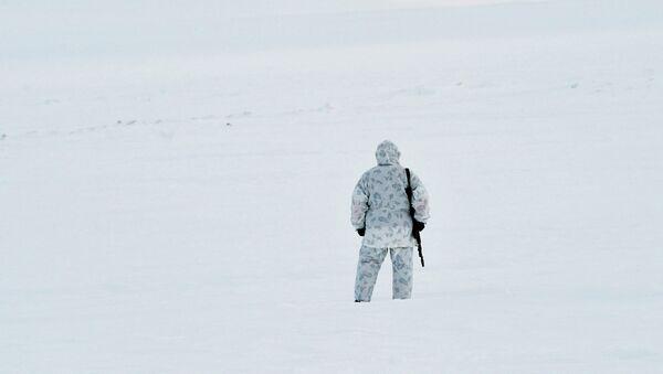Soldado ruso en la Tierra de Francisco José - Sputnik Mundo