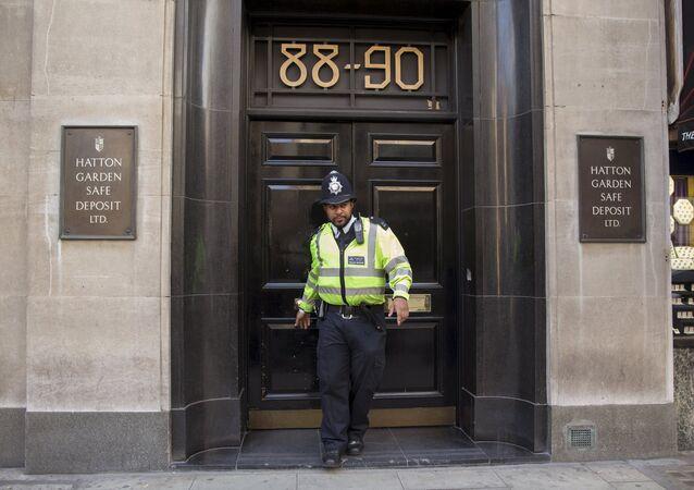 El robo en la calle de los joyeros de Londres puede superar los 200 millones de euros